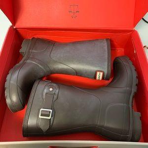 Hunter short Wellies/rain boots EUC!